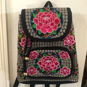 Cute Authentic Mexican Styled Backpack